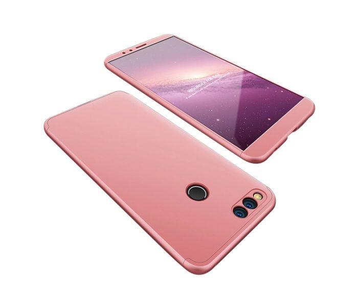 GKK Luxury 360° Full Cover Case Pink (Huawei Honor 7X)