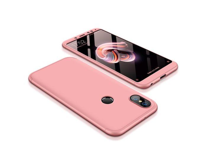 GKK Luxury 360° Full Cover Case Rose Gold (Xiaomi Redmi Note 5)