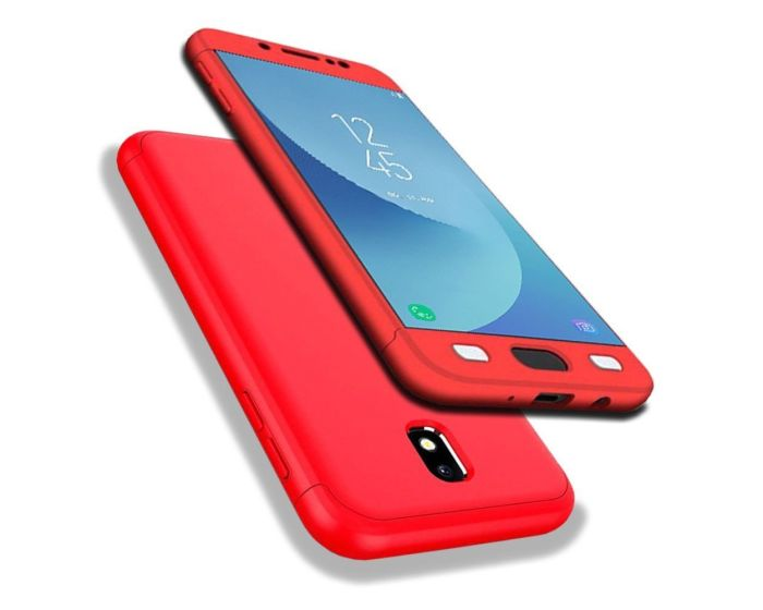GKK Luxury 360° Full Cover Case Red (Samsung Galaxy J5 2017)