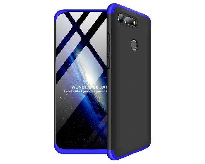 GKK Luxury 360° Full Cover Case Black / Blue (Huawei Honor View 20)