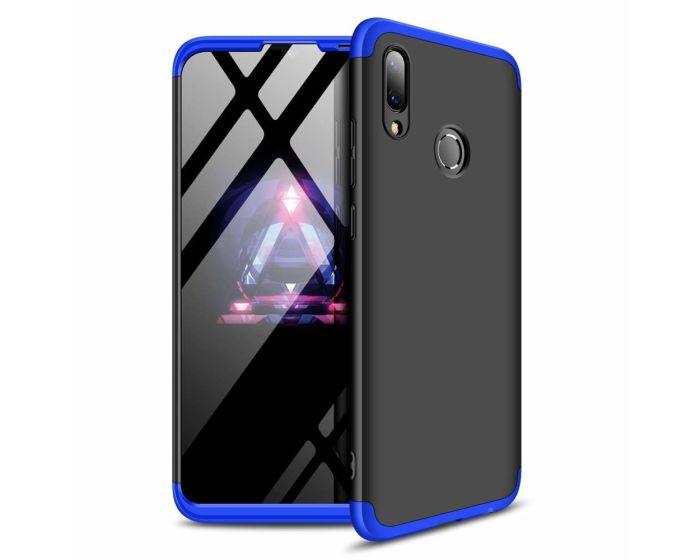 GKK Luxury 360° Full Cover Case Black / Blue (Huawei P Smart 2019 / Honor 10 Lite)
