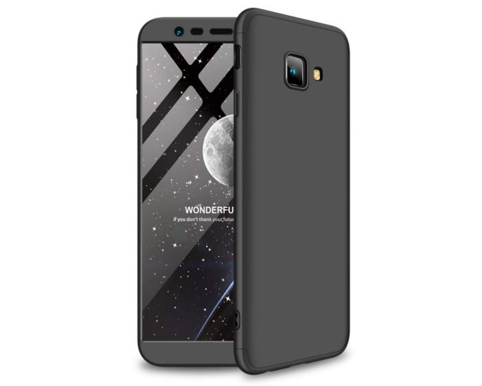 GKK Luxury 360° Full Cover Case Black (Samsung Galaxy J4 Plus 2018)