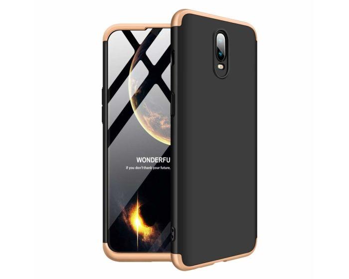 GKK Luxury 360° Full Cover Case Black / Gold (OnePlus 6T)