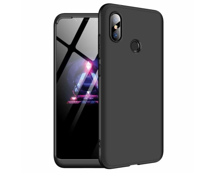 GKK Luxury 360° Full Cover Case Black (Xiaomi Redmi Note 6 Pro)