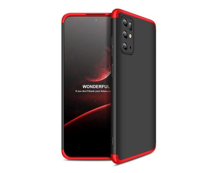 GKK Luxury 360° Full Cover Case Black / Red (Samsung Galaxy S20 Plus)