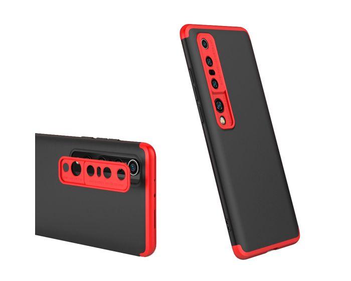 GKK Luxury 360° Full Cover Case Black / Red (Xiaomi Mi 10 / Mi 10 Pro)