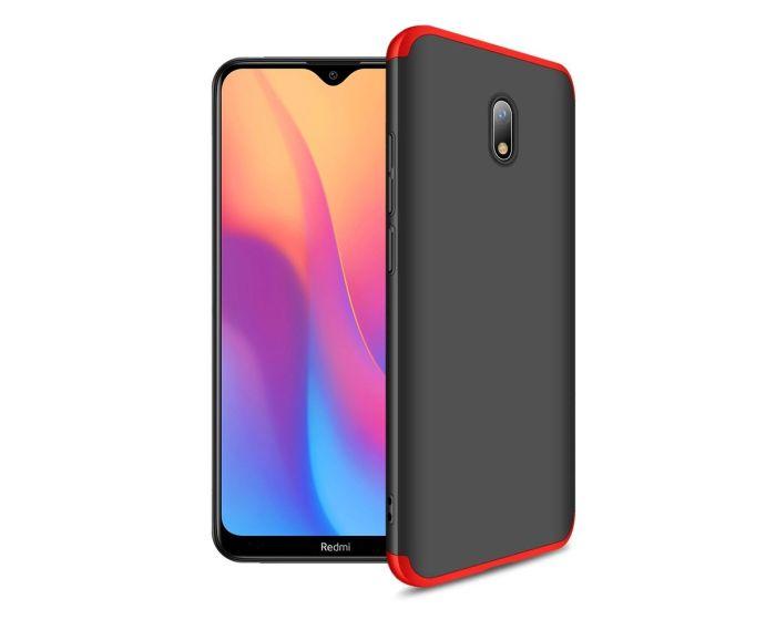 GKK Luxury 360° Full Cover Case Black / Red (Xiaomi Redmi 8A)