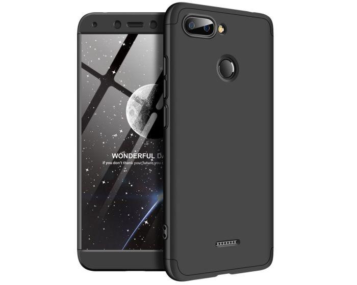GKK Luxury 360° Full Cover Case Black (Xiaomi Redmi 6)