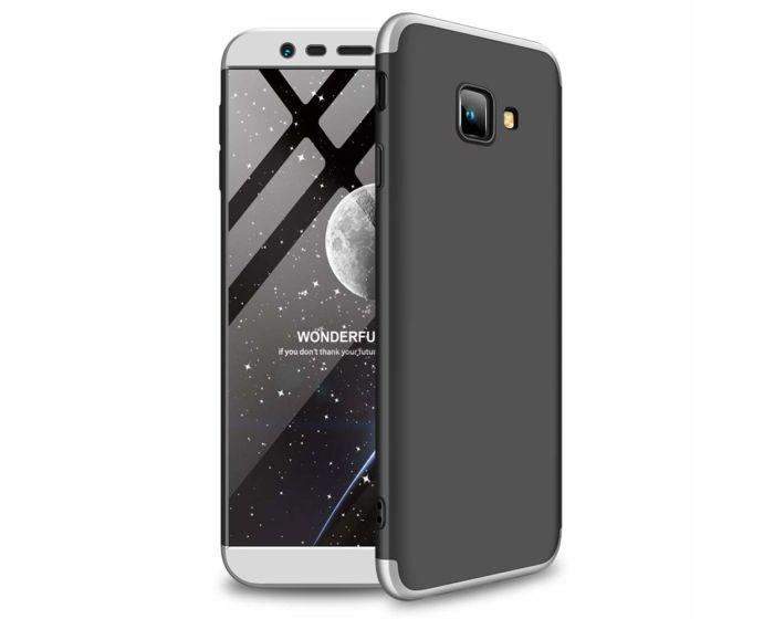 GKK Luxury 360° Full Cover Case Black / Silver (Samsung Galaxy J4 Plus 2018)