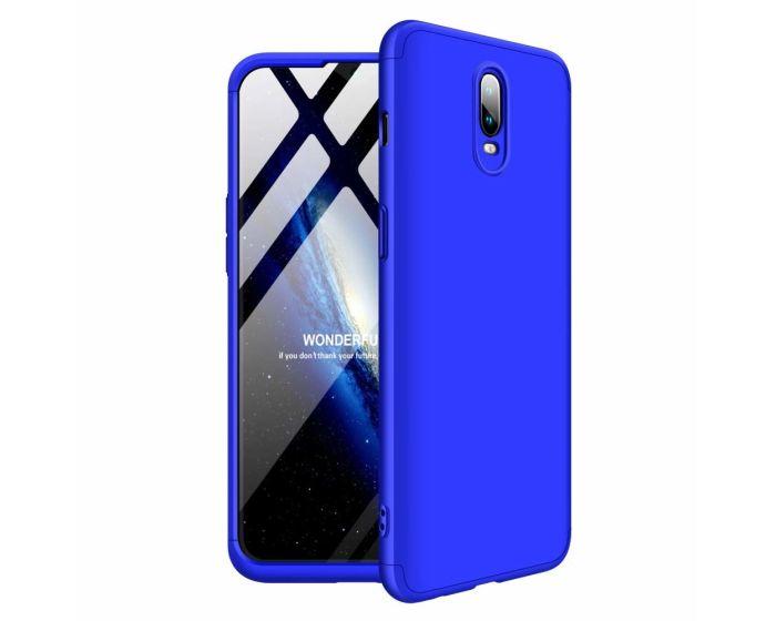 GKK Luxury 360° Full Cover Case Blue (OnePlus 6T)