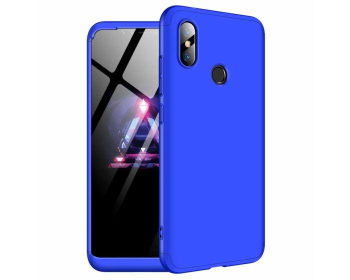 GKK Luxury 360° Full Cover Case Blue (Xiaomi Redmi Note 6 Pro)