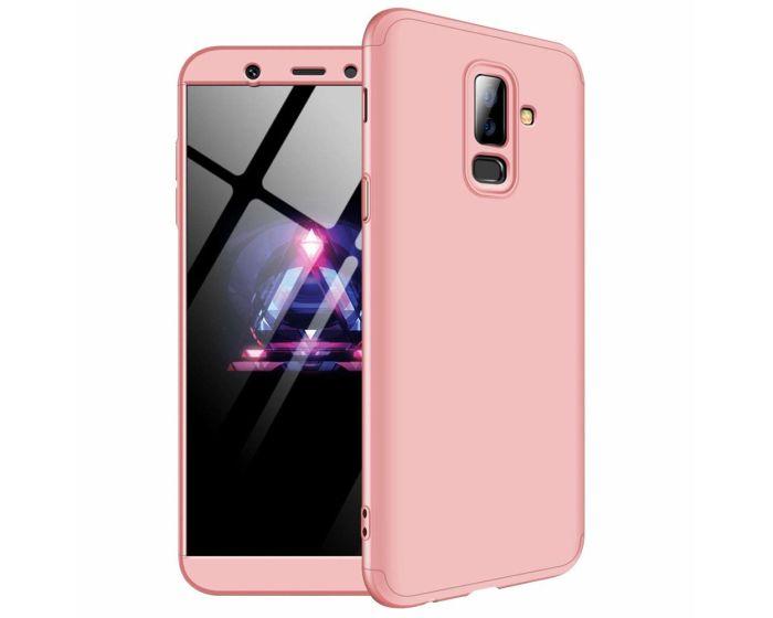 GKK Luxury 360° Full Cover Case Rose Gold (Samsung Galaxy A6 Plus 2018)