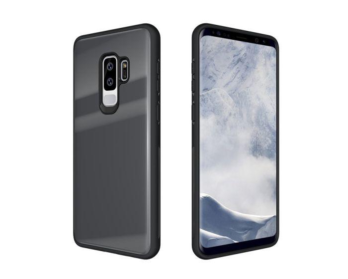 Glass TPU Case Grey (Samsung Galaxy S9 Plus)