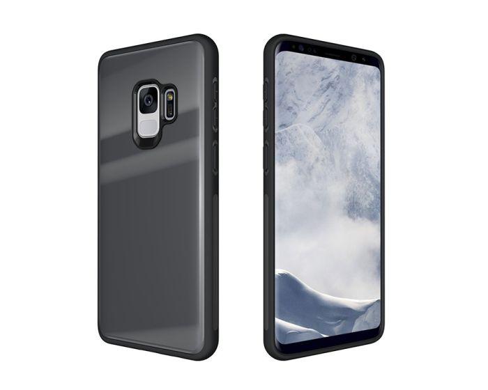 Glass TPU Case Grey (Samsung Galaxy S9)