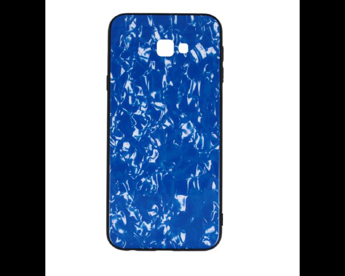 Glass Marble TPU Case Blue (Samsung Galaxy J4 Plus 2018)