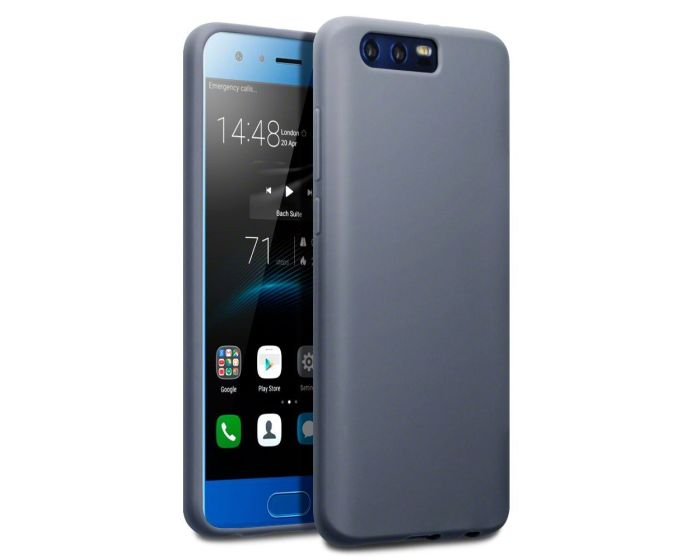 Terrapin Θήκη Σιλικόνης Slim Fit Silicone Case (118-083-136) Matte Grey (Huawei Honor 9)