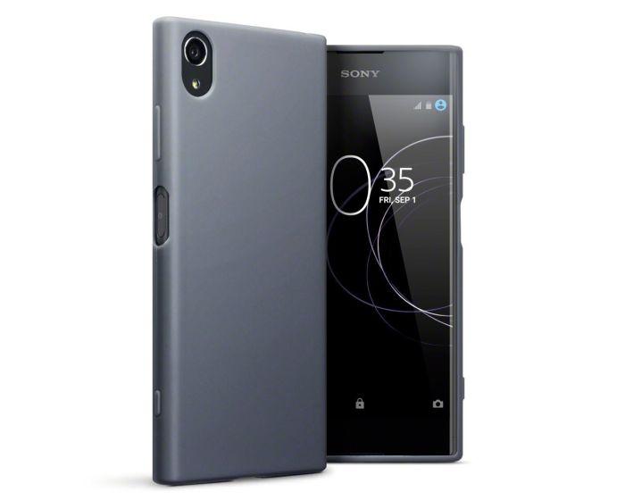 Terrapin Θήκη Σιλικόνης Slim Fit Silicone Case (118-005-420) Grey Matte (Sony Xperia XA1 Plus)