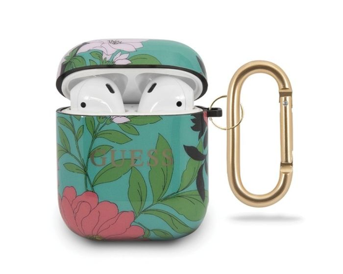 Guess Silicone Protective Case για τα Apple AirPods - N.1 Flower Collection