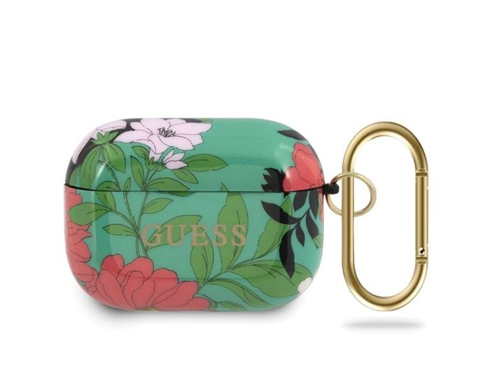 Guess Silicone Protective Case για τα Apple AirPods Pro - N.1 Flower Collection