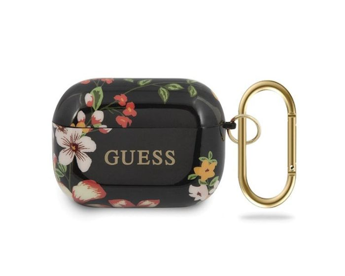 Guess Silicone Protective Case για τα Apple AirPods Pro - N.4 Flower Collection