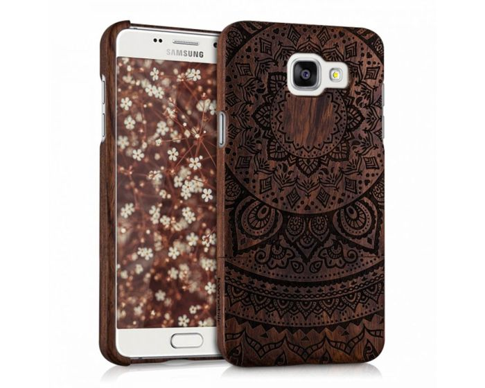 KWmobile Wooden Bamboo Case Indian Sun (37936.03) Θήκη Ξύλινη (Samsung Galaxy A5 II - 2016)