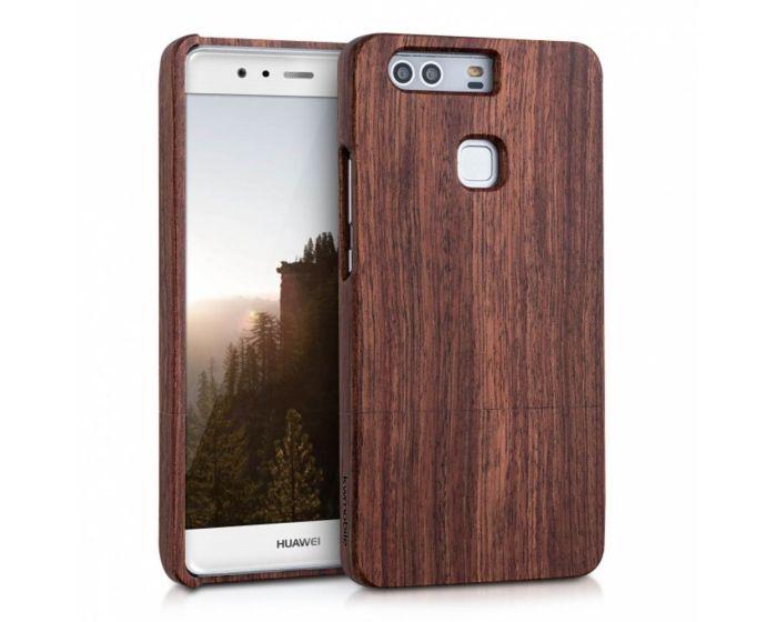 KWmobile Wooden Bamboo Case Rosewood (38030.18) Θήκη Ξύλινη (Huawei P9 Plus)