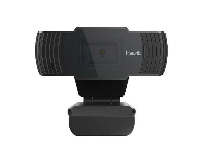 Havit Full HD Webcam (HV-HN12G) 1080p@30FPS Κάμερα - Black