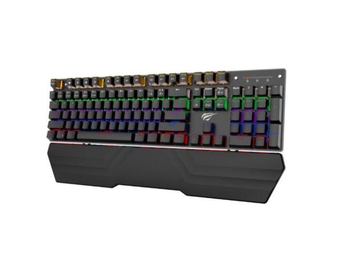 Havit GAMENOTE Mechanical Keyboard (KB432L) Μηχανικό Πληκτρολόγιο - Black