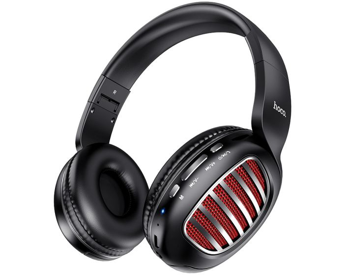 HOCO W23 Brilliant Sound Bluetooth Wireless Headphones Ασύρματα Ακουστικά Black
