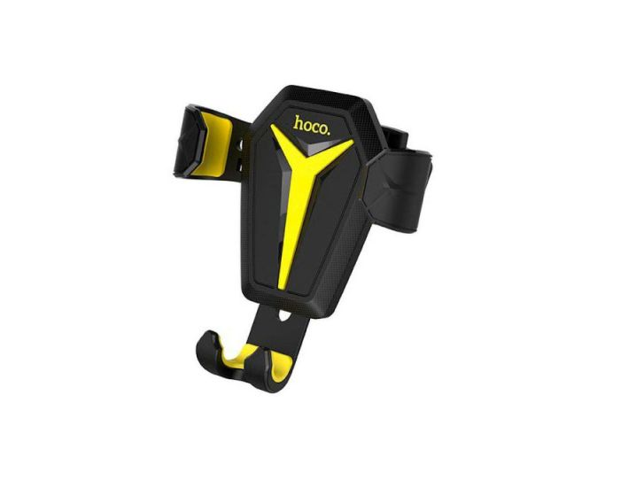 HOCO Gravity Car Mount Air Vent Holder Kingcrab CA22 - Black / Yellow