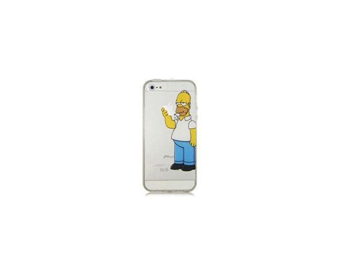 Ultra Thin Homer #3 Case Πλαστική Θήκη (iPhone 4 / 4s)