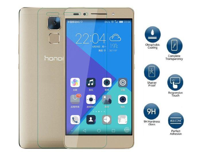 Αντιχαρακτικό Γυάλινο Προστατευτικό 9Η Tempered Glass Screen Prοtector (Huawei Honor 7)