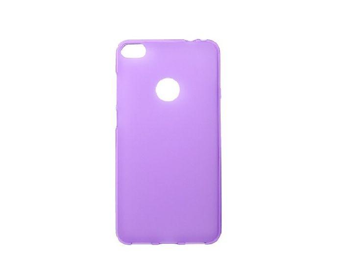 TPU Jelly Matte Slim Fit Case Θήκη Gel Purple (Huawei P8 Lite 2017 / Honor 8 Lite)