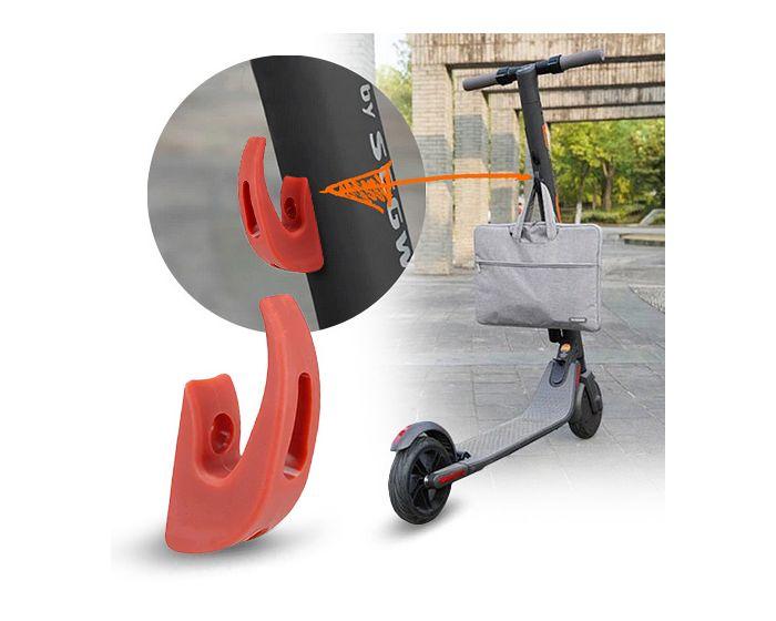 Hook for Xiaomi Electric Scooter M365 - Άγκιστρο με αντοχή έως 70Kg - Red