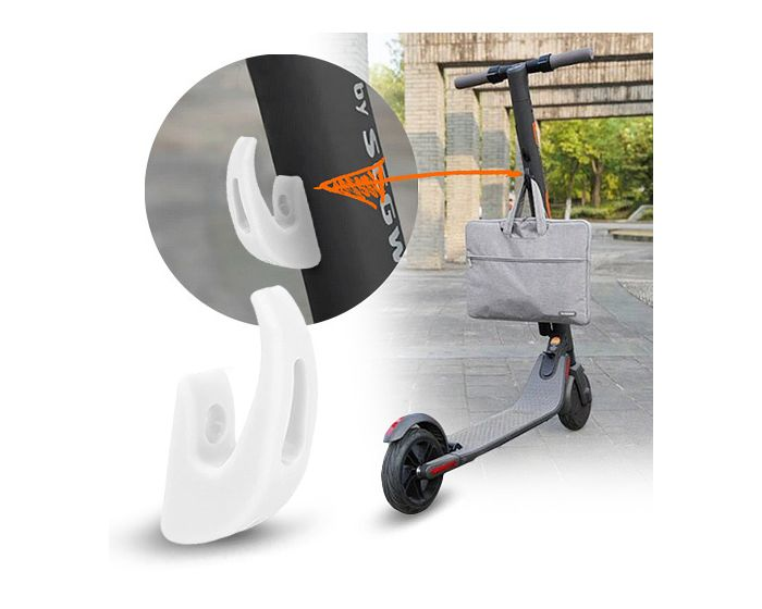 Hook for Xiaomi Electric Scooter M365 - Άγκιστρο με αντοχή έως 70Kg - White