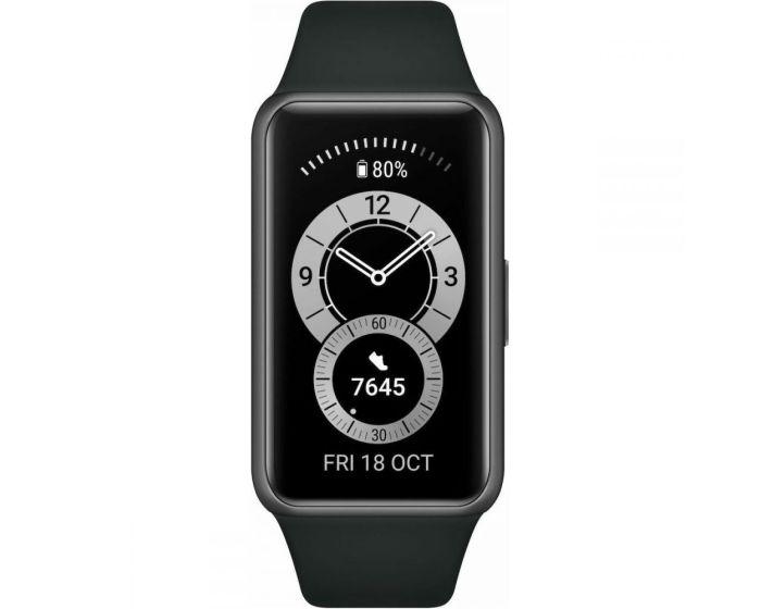 Huawei Band 6 Smartwatch / Activity Tracker - Graphite Black + Terranation Bag Ika Kopu