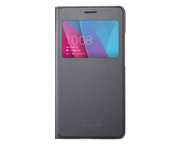 Honor Original S View Window Preview Flip Case Stand Gray (Huawei Honor 5X)