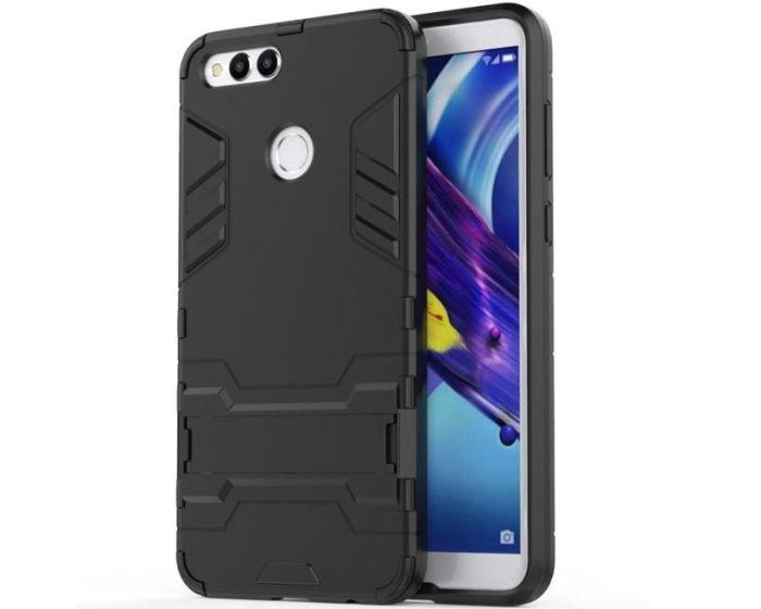 XCase Ανθεκτική Θήκη με KickStand - Black (Huawei Honor 7X)