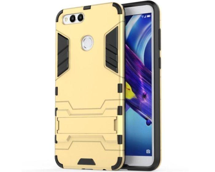 XCase Ανθεκτική Θήκη με KickStand - Gold (Huawei Honor 7X)