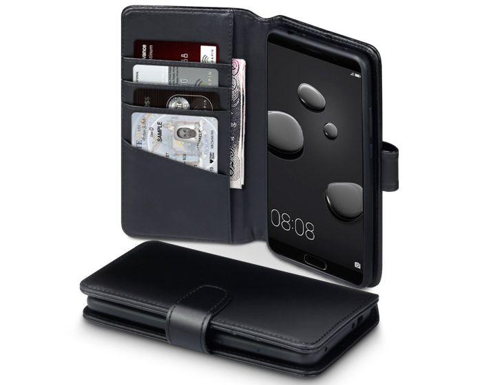 Terrapin Δερμάτινη Θήκη Πορτοφόλι Wallet Case (117-083-159) Μαύρο (Huawei Mate 10)