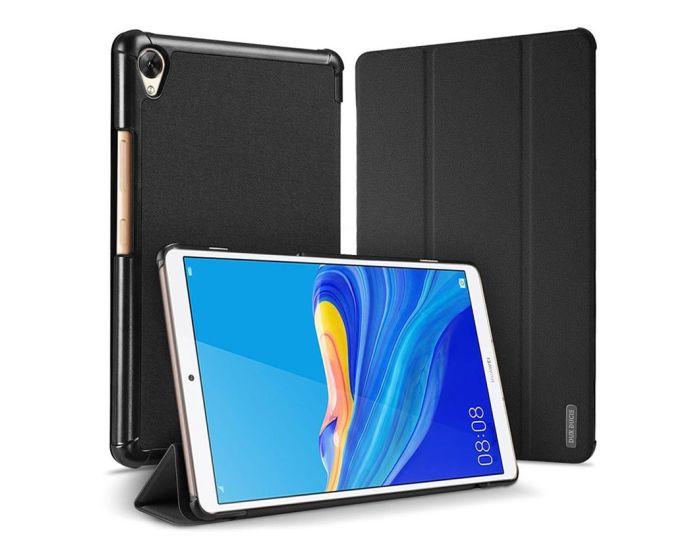 DUX DUCIS Domo Smart Book Case Θήκη με Δυνατότητα Stand - Black (Huawei MediaPad M6 8.4)
