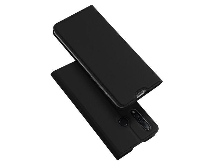 DUX DUCIS SkinPro Wallet Case Θήκη Πορτοφόλι με Stand - Black (Huawei Nova 4)