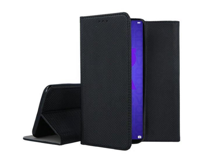 Forcell Smart Book Case με Δυνατότητα Stand Θήκη Πορτοφόλι Black (Huawei Nova 5T / Honor 20)