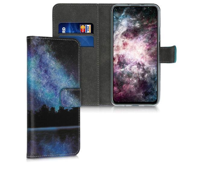 KWmobile Θήκη Πορτοφόλι Wallet Case (51488.05) Cosmic Forest (Huawei Nova 5T / Honor 20)
