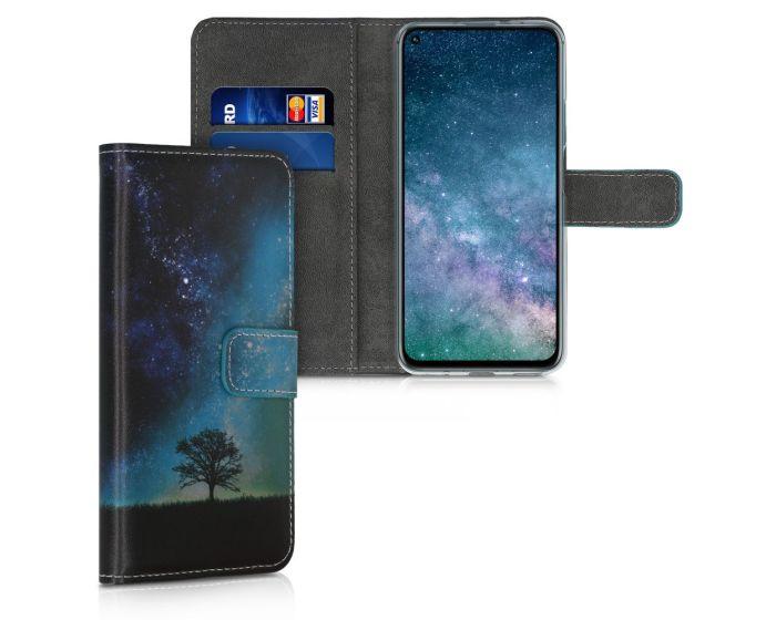 KWmobile Θήκη Πορτοφόλι Wallet Case (51488.02) Cosmic Nature (Huawei Nova 5T / Honor 20)