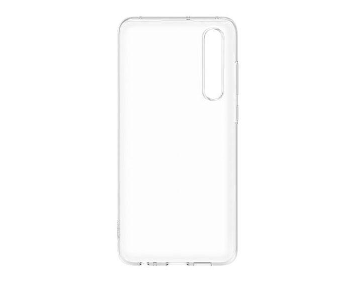 Huawei Original Soft Silicone Case (51993008) Διάφανη (Huawei P30)