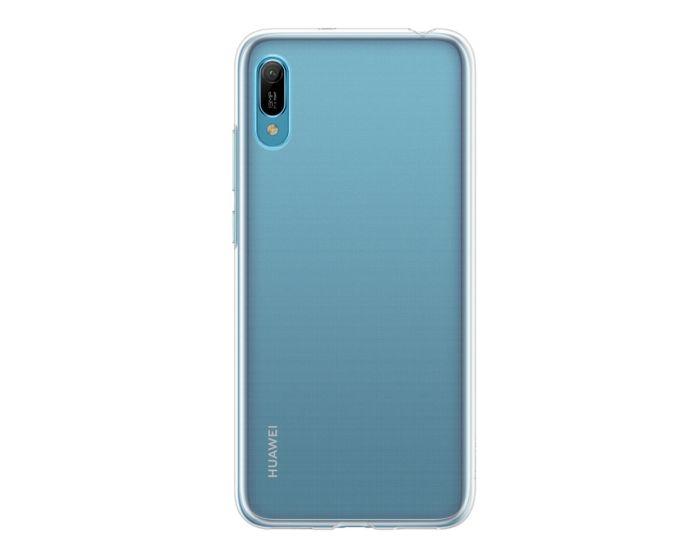 Huawei Original Soft Silicone Case (51992912) Διάφανη (Huawei Y6 2019)