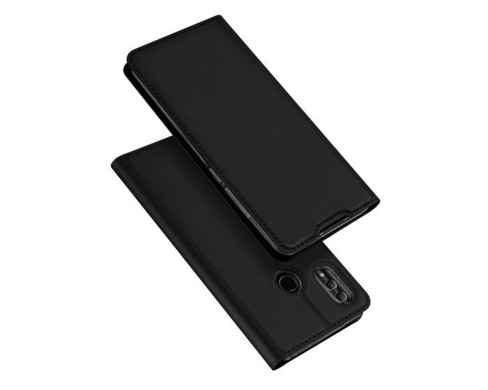 DUX DUCIS SkinPro Wallet Case Stand Θήκη Πορτοφόλι - Black (Huawei P Smart 2019 / Honor 10 Lite)
