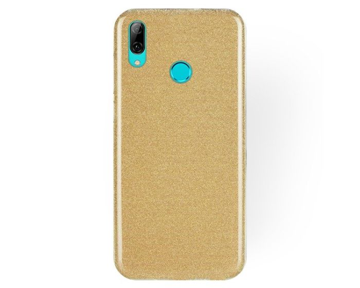 Forcell Glitter Shine Cover Hard Case Gold (Huawei P Smart 2019 / Honor 10 Lite)