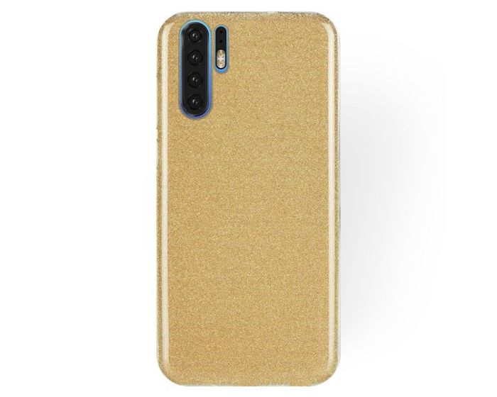 Forcell Glitter Shine Cover Hard Case Gold (Huawei P30 Pro)